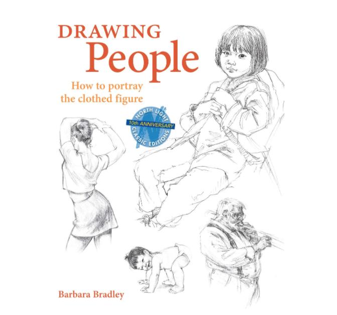 Book, anatomy drawing