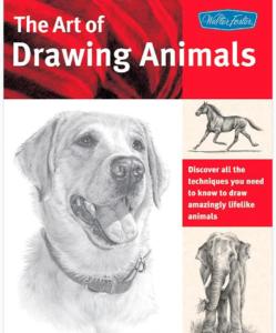 Book, animal drawing