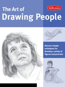 Book, drawing people