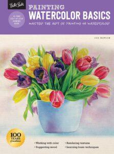 Book, painting watercolors